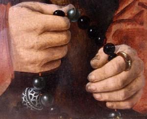 Rosary avec pomander