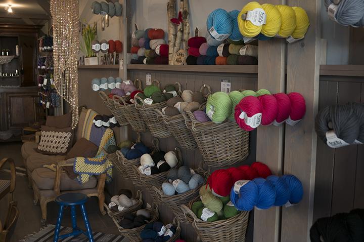 Boutique de laines et salon de thé à Cambrai