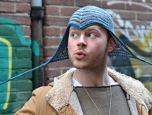 Tricoter un bonnet Pixie ,lutin et elfes