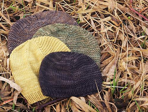 Bonnet tricoté Barley par tincanknits