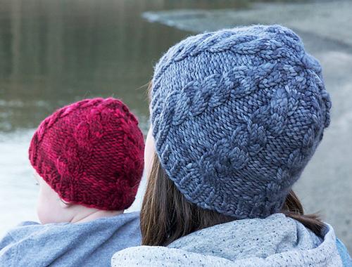 Tricoter un bonnet jacquard tricoté Clayoquot Toque by tincanknits