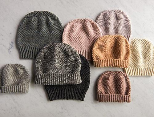 Tricoter un bonnet Fluffy Brioche Hat par Purl Soho